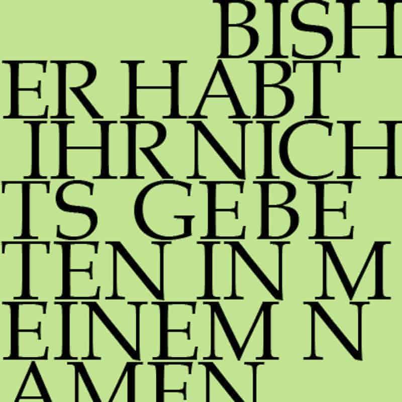 J.S. Bach-Stiftung Kantate BWV 87