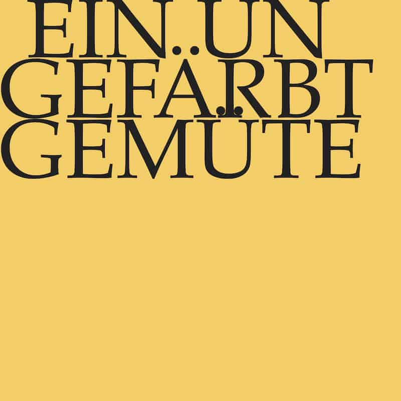 J.S. Bach-Stiftung Kantate BWV 24