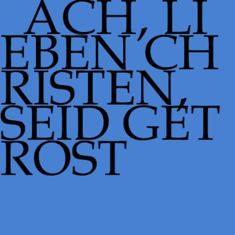 J.S. Bach-Stiftung Kantate BWV 114
