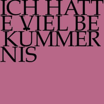 J.S. Bach-Stiftung Kantate BWV 21
