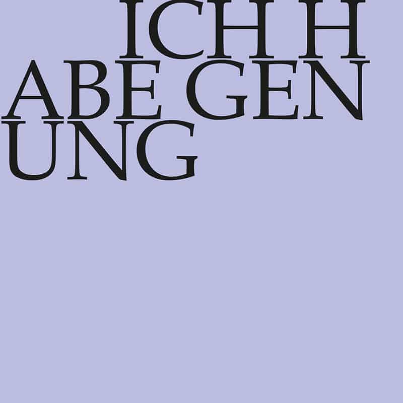 J.S. Bach-Stiftung Kantate BWV 82