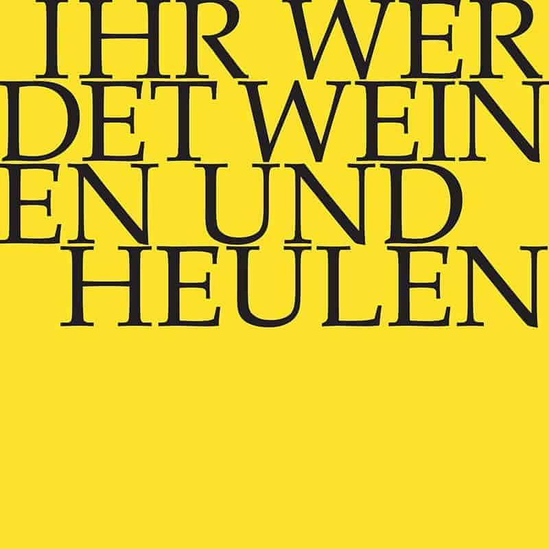 J.S. Bach-Stiftung Kantate BWV 103