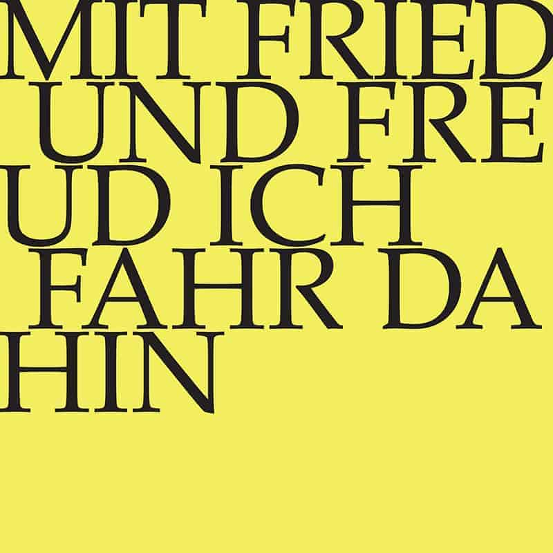 J.S. Bach-Stiftung Kantate BWV 125