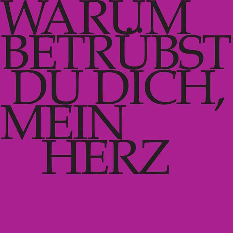 J.S. Bach-Stiftung Kantate BWV 138