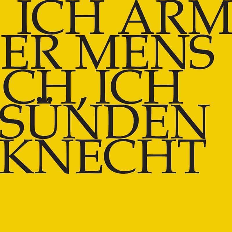 J.S. Bach-Stiftung Kantate BWV 55