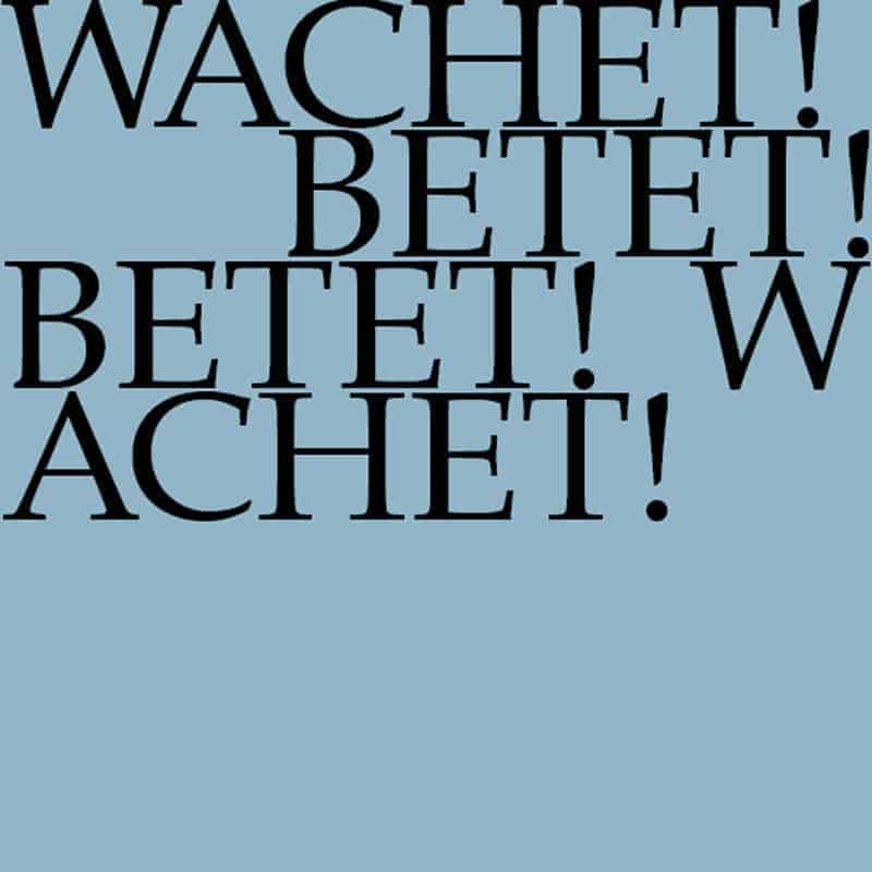 J.S. Bach-Stiftung Kantate BWV 70
