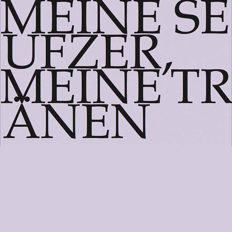 J.S. Bach-Stiftung Kantate BWV 13