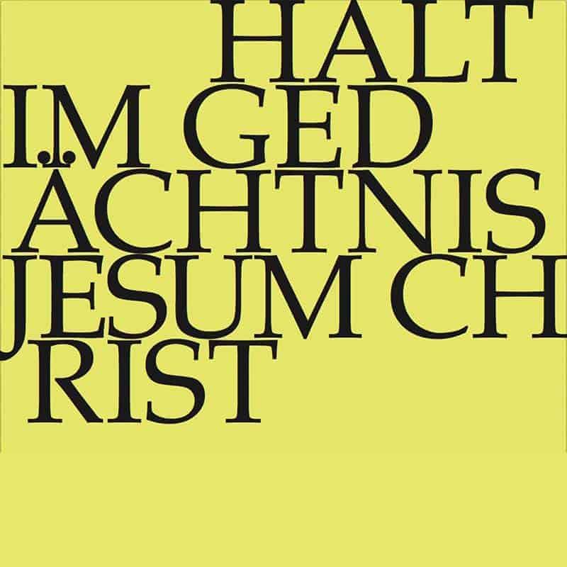 Halt im Gedächtnis Jesum Christ