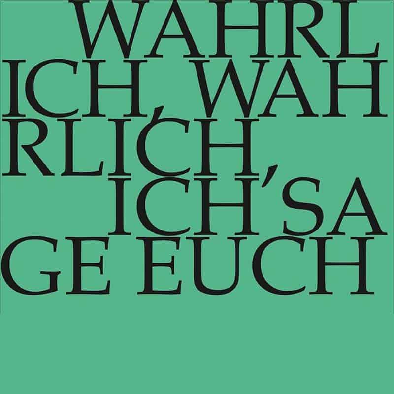J.S. Bach-Stiftung Kantate BWV 86