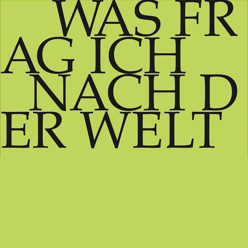 J.S. Bach-Stiftung Kantate BWV 94