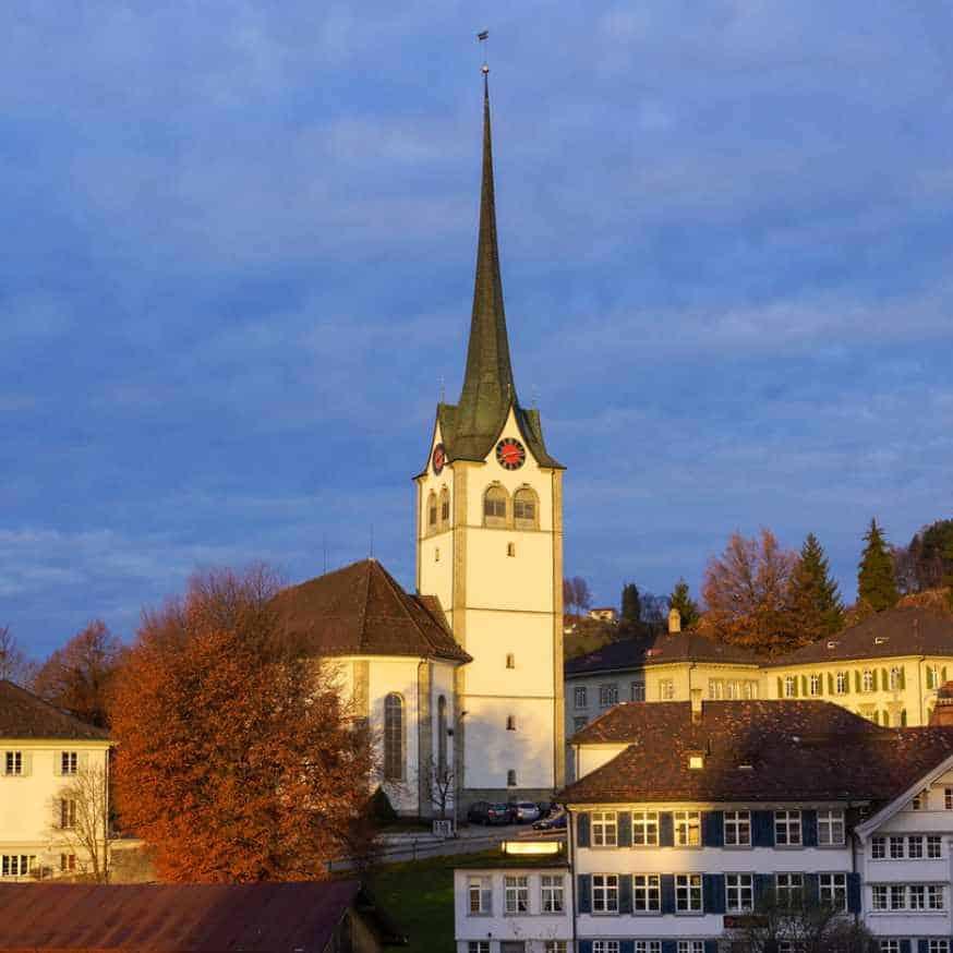 J. S. Bach church service