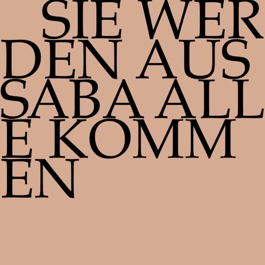 J.S. Bach-Stiftung Kantate BWV 65